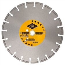 Cured Concrete Wet Cutting Pro Series Laser Weld Segmented Diamond Blades