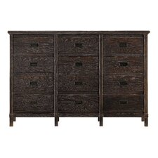 Resort Haven's Harbor 12 Drawer Dresser