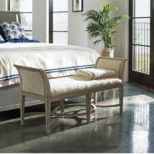 Resort Surfside Wooden Bedroom Bench