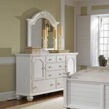 Mirren Harbor 5 Drawer Combo Dresser