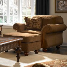 <strong>Broyhill®</strong> Cierra Chair and Ottoman