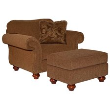 Cierra Chair and Ottoman