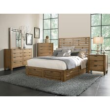 Ember Grove Storage Panel Bed