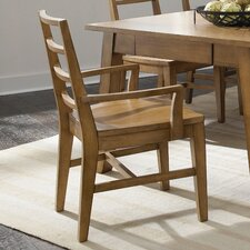 Ember Grove Slat Back Arm Chair