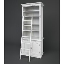 Halifax Slim Hutch Bookcase and Ladder
