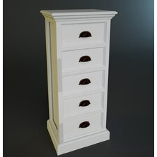 Halifax 5 Drawers Storage Unit with Recycled Timber option