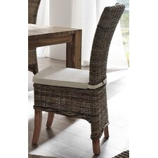 Halifax Salsa Kubu Rattan Dining Chair with Cushion (Set of 2)