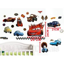 Large Disney Cars Removable Wall Decal for Kids