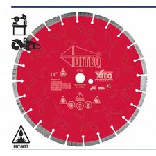 XTEQ Crossover Diamond Blade