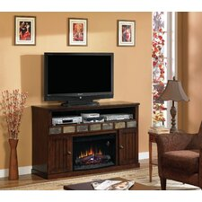 "Margate 55"" TV Stand with 26EF031GRP Electric Fireplace"