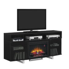 """Enterprise Lite 72"""" TV Stand with 26EF031GRP Electric Fireplace"""