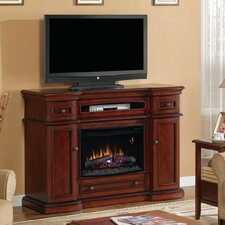 "Montgomery 58"" TV Stand with 26EF031GRP Electric Fireplace"