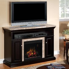 "Brighton 56"" TV Stand with 23EF031GRP Electric Fireplace"