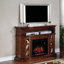 "Bellemeade 54"" TV Stand with 23EF031GRP Electric Fireplace"