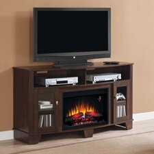 """La Salle 59"""" TV Stand with 26EF031GRP Electric Fireplace"""