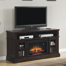 "Dakota 60"" TV Stand with 26EF031GRP Electric Fireplace"