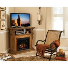 "Advantage Corinth 42"" TV Stand with Electric Fireplace"