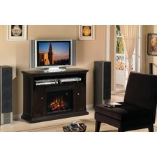 "<strong>Classic Flame</strong> Advantage Cannes 48"" TV Stand with Electric Fireplace"