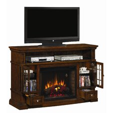 "Belmont 60"" TV Stand with Electric Fireplace"