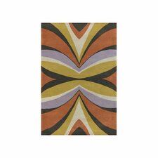 Bense Garza Yellow/Purple Area Rug