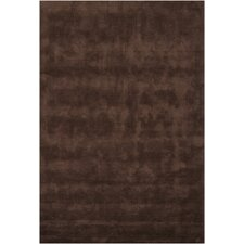 Clarissa Brown Solid Area Rug