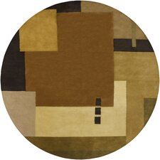 <strong>Chandra Rugs</strong> Dream Brown Geometric Rug