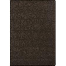 Celina Chocolate Solid Area Rug
