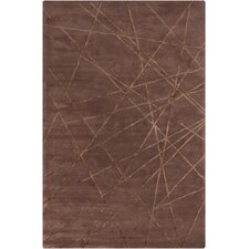 Harrow Brown Geometric Rug