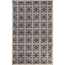 <strong>Chandra Rugs</strong> Harrow Grey Geometricl Rug