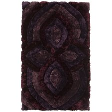 Filix Purple Area Rug
