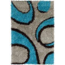 Fola Blue/Gray Area Rug