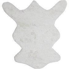 Bear White Area Rug