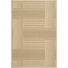 Ryan Brown Geometric Indoor/Outdoor Rug