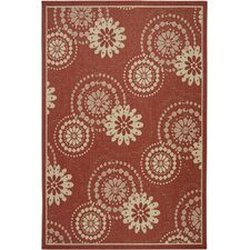 Ryan Red Indoor/Outdoor Rug