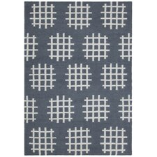 Lima Charcoal/White Abstract Rug