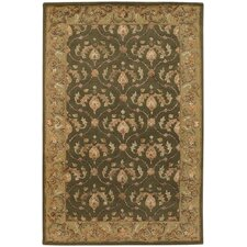 Bliss Green Area Rug