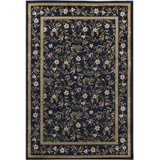 Taj Blue Floral Rug