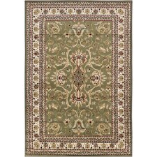 Taj Green/Tan Area Rug