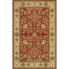 Adonia Red Area Rug