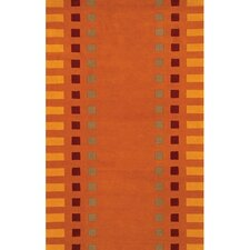Alma Orange Area Rug