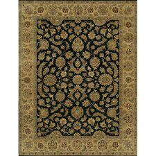 Angora Black/Brown Area Rug
