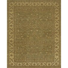 Angora Green/Brown Area Rug