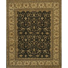 Angora Black/Tan Area Rug