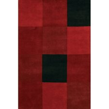 Antara Red/Black Area Rug