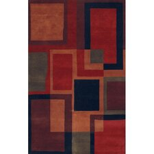 Antara Breown/Red Area Rug