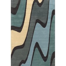 Bense Garza Blue/Green Area Rug