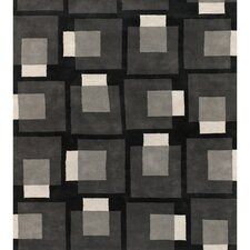 Bense Garza Black/Gray Area Rug