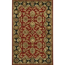 Bliss Red/Black Area Rug