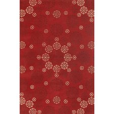Condit Red Area Rug
