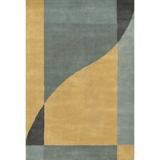 <strong>Chandra Rugs</strong> Daisa Blue/Yellow Rug
